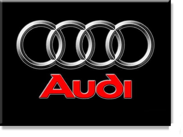 Some models of audi logo