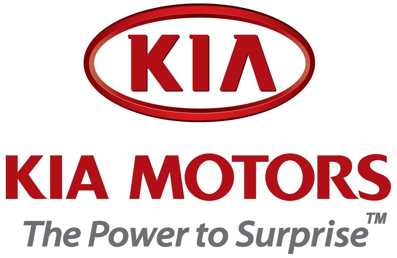Kia logo and kia slogan