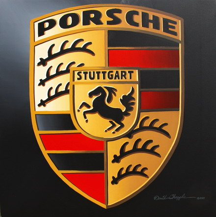 The porsche logo represents