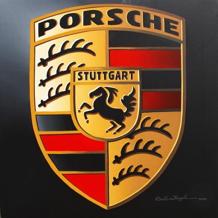 The porsche logo represents