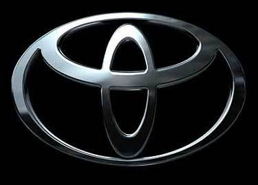 Shape of toyota logo