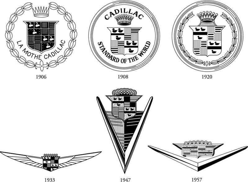 The redesign of Cadillac logo