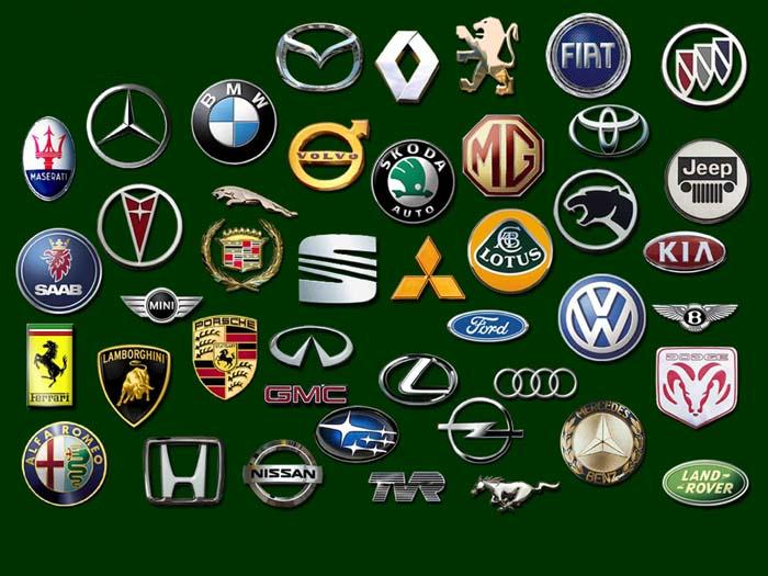 Car emblems image list