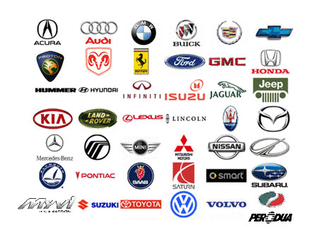 car logos and name list