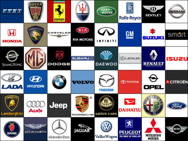 Bmw and audy car symbols