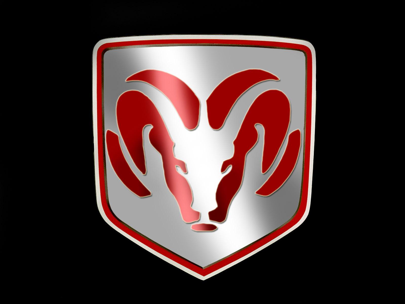 Red Dodge logo symbols