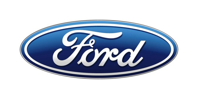 Newest form of ford logo