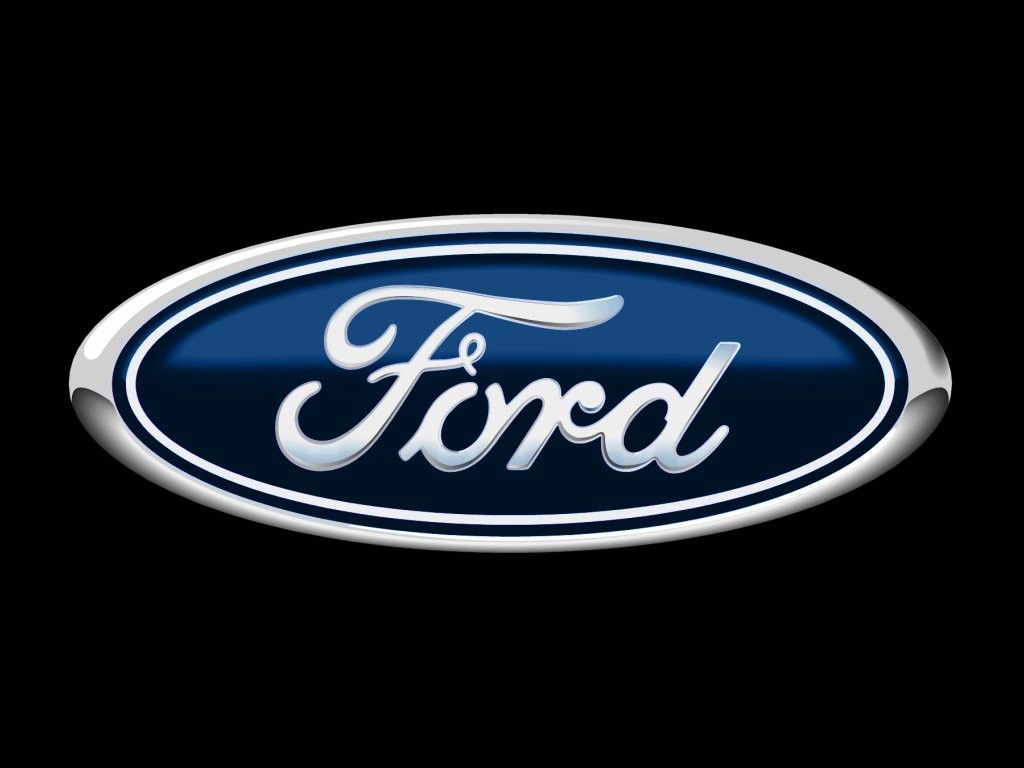 Ford logo with dark themes