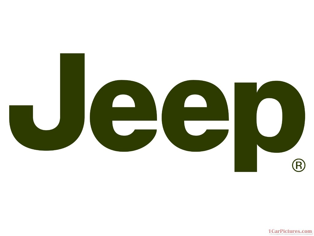 Simple form of jeep logo