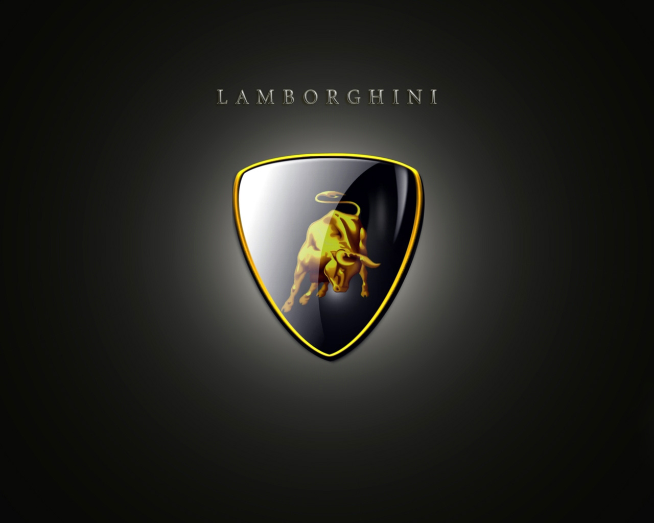 On the lamborghini logo identical