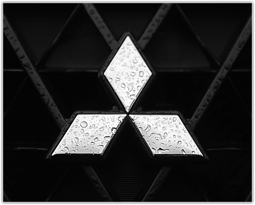 Cool Mitsubishi logo model