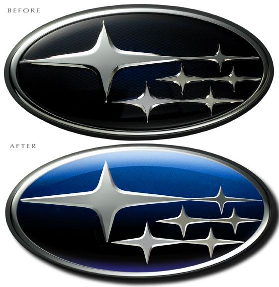Subaru logo regeneration