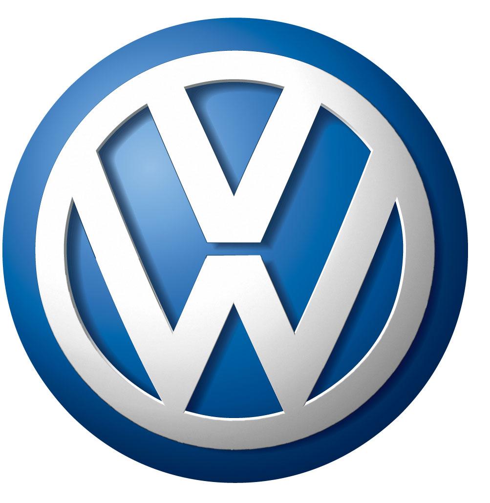 Classic volkswagen logo model
