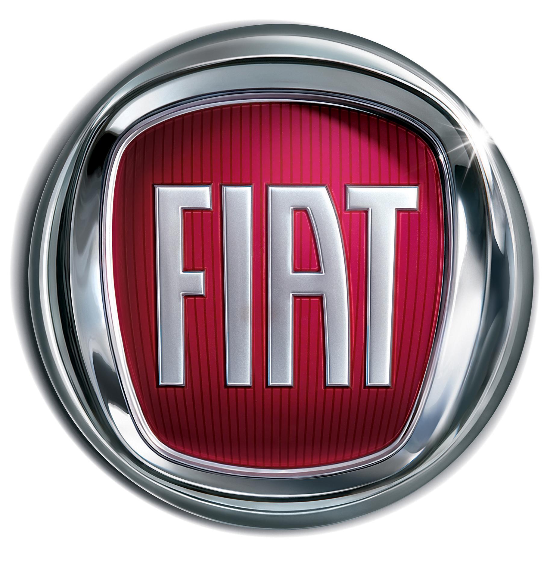 Italian fiat logo company