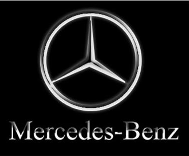 Automotive mercedes benz logo