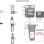 Lexus ES series dashboard parts