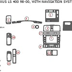 Lexus LS400 dashboard parts