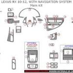 Lexus RX series dashboard parts