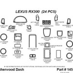 Lexus Dashboard Parts